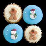 Weihnachtskleine kuchen Stockfoto