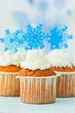 Weihnachtskleine kuchen Lizenzfreies Stockfoto