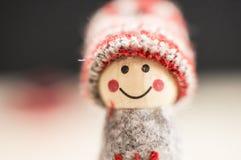 Weihnachtskleine Puppe Lizenzfreie Stockbilder