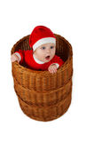 Weihnachtskleiner Junge Lizenzfreies Stockbild