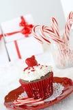 Weihnachtskleiner kuchen Lizenzfreie Stockfotografie