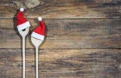 Weihnachtskoch Bake Food Background stockbilder