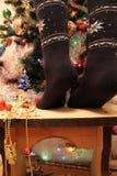 Weihnachtskomfort schön stockfotografie