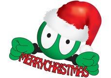 Weihnachtskomische Marionette Stockfotografie