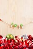 Weihnachtskonzept, abstrakter Hintergrund für guten Rutsch ins Neue Jahr 2016 Stockfoto