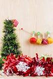 Weihnachtskonzept, abstrakter Hintergrund für guten Rutsch ins Neue Jahr 2016 Lizenzfreie Stockbilder