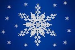 Weihnachtskonzept Schnee-Flocke stock abbildung