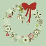 WeihnachtsKranz Lizenzfreie Stockbilder