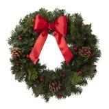 Weihnachtskranz Stockfotografie