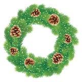 Weihnachtskranz Lizenzfreie Stockfotografie