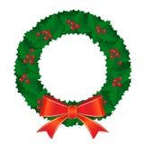 Weihnachtskranz Lizenzfreie Stockfotos