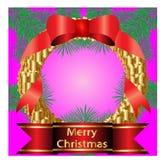 Weihnachtskranz Stockbilder