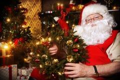 Weihnachtskranz Stockbild