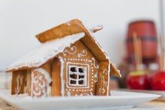 Weihnachtskuchen Lizenzfreies Stockfoto