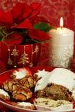 Weihnachtskuchen Stockfotografie