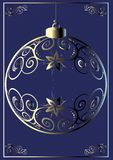 Weihnachtskugel. vektor abbildung