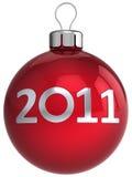 Weihnachtskugel 2011 (Mieten) Stockfotos