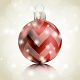 Weihnachtskugel vektor abbildung