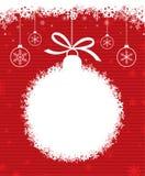Weihnachtskugel 3 lizenzfreie abbildung