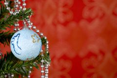 Weihnachtskugel Lizenzfreie Stockbilder