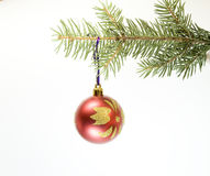 Weihnachtskugel Lizenzfreies Stockbild