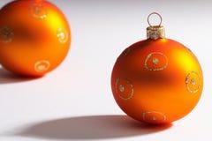 weihnachtskugel piłka choinki fotografia stock