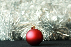 Weihnachtskugeldekoration Stockfotografie