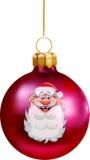 Weihnachtskugeldekorationen stock abbildung