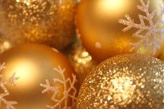 Weihnachtskugelhintergrund Lizenzfreies Stockbild