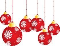 Bunte sternweihnachtskugeln vektor abbildung illustration von kugel gr n 11344590 - Weihnachtsbaumkugeln schwarz ...