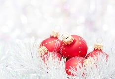 Weihnachtskugeln Lizenzfreies Stockfoto