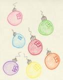 Weihnachtskugeln Stockfoto