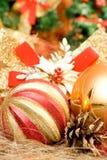 Weihnachtskugeln lizenzfreie stockbilder