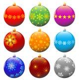 Weihnachtskugeln. Stockbilder