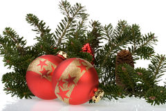 Weihnachtskugeln 5 Lizenzfreies Stockbild