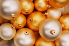 Weihnachtskugeln II Stockfotografie
