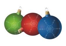 Weihnachtskugelverzierungen Lizenzfreie Stockfotografie