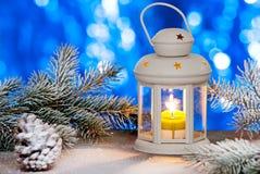 Weihnachtslaterne Lizenzfreie Stockfotografie