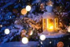 Weihnachtslaterne lizenzfreies stockfoto