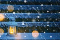 Weihnachtslaterne stockfotos