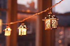 Weihnachtslaternen Lizenzfreie Stockfotos