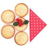 Weihnachtslebensmittel Lizenzfreie Stockfotografie