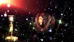 Weihnachtslebhafter Hintergrund stock abbildung