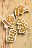 Weihnachtslebkuchen lizenzfreies stockfoto