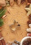 Weihnachtslebkuchen. lizenzfreie stockfotografie