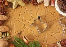 Weihnachtslebkuchen. stockfotografie