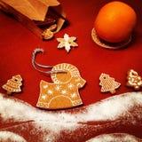 Weihnachtslebkuchen Lizenzfreie Stockfotografie