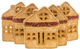 Weihnachtslebkuchenhaus Lizenzfreies Stockfoto
