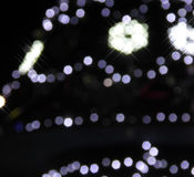 Weihnachtsleuchte-abstrakter Hintergrund Lizenzfreie Stockfotos