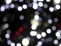 Weihnachtsleuchte-abstrakter Hintergrund Lizenzfreie Stockfotografie
